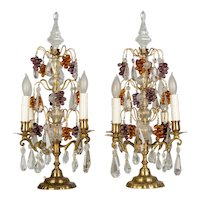 Pair of Louis XV Style French Girandoles