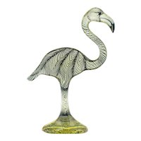 Palatnik Op Art Lucite Flamingo