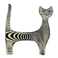 Palatnik Op Art Lucite Cat