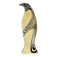 Palatnik Op Art Lucite Penguin
