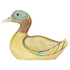 Palatnik Op Art Lucite Mallard Duck