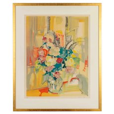 Framed Lithograph by Andrée Bordeaux-Le Pecq
