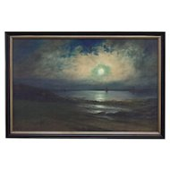 Neil Reid Mitchill Moon Light Seascape