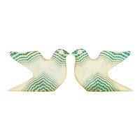 Pair of Palatnik Mid Century Modern Op Art Lucite Bird Sculptures
