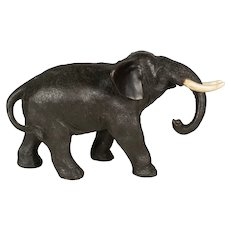19th Century Japanese Meiji Period Bronze Elephant