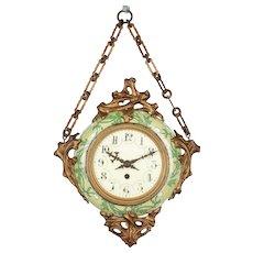19th Century French Art Nouveau Baker's Clock