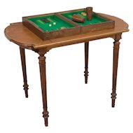 French Louis XVI Style Game Table