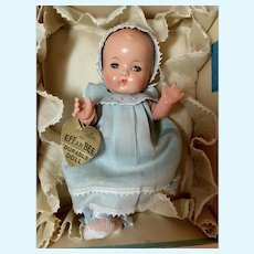 Rare * PRISTINE * 1930's Effanbee Patsy Babyette -- MINT in BOX with LAYETTE