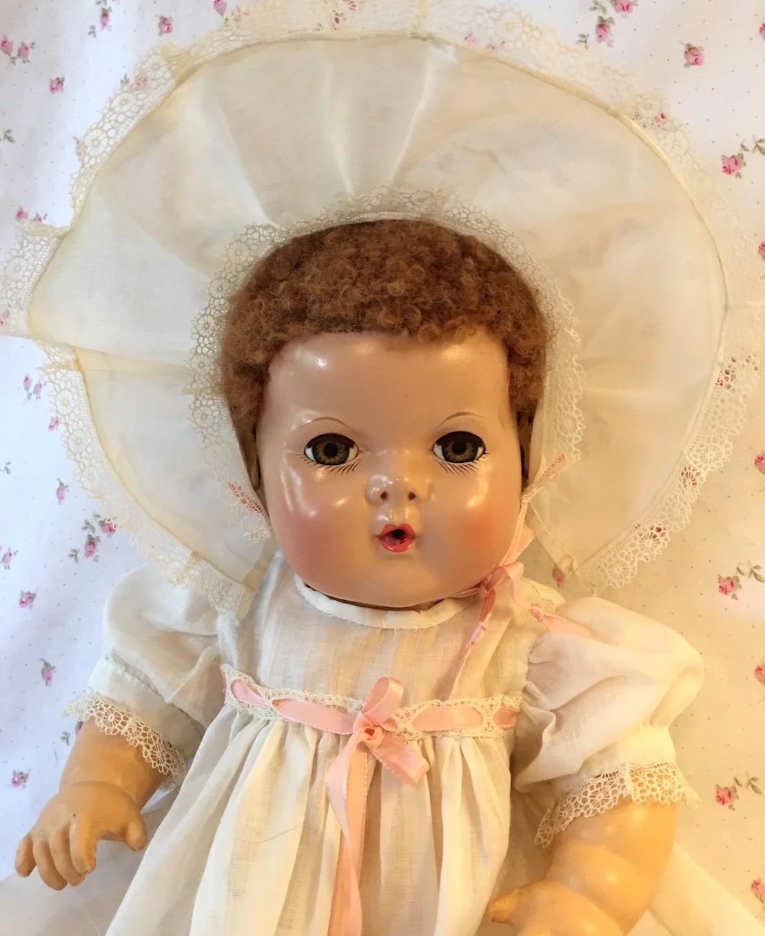 Effanbee Twin Series 15 Quot Dy Dee Christening Gown Set