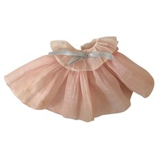 """Vintage 1930s Ideal Shirley Temple Composition 11"""" Tagged DANCING Doll Dress"""