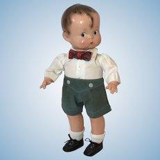 """1937 Effanbee 13"""" Skippy Boy ALL Original UNPlayed with Doll -- Patsy Boyfriend"""