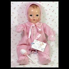 "RARE * Effanbee Dy-Dee LOU 20"" Factory Layette SNOW SUIT Snowsuit -- MINT"