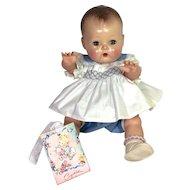 "VERY RARE 1950's Tiny Tears 13.5"" Baby Romper Set * MINT"