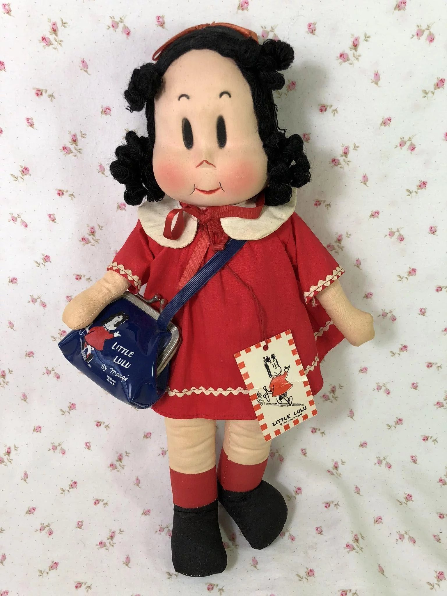 1940 S Georgene Averill 13 Quot Cloth Little Lulu W Purse