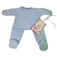 Effanbee Dy-Dee Jane Healthknit BLUE Pajamas