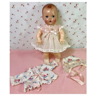 """RARE 11"""" Tiny Tears American Character FACTORY Extra Party Outfit"""