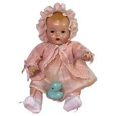 """Effanbee 20"""" Mold 1 Dy-Dee LOU Blond Baby"""