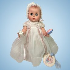 """Extremely RARE 1956 American Character 11"""" Teeny Toodles Baby"""