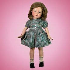"#2 -- 1930s Effanbee 21"" Barbara LOU Dewees Cochrane AMERICAN CHILDREN Doll"