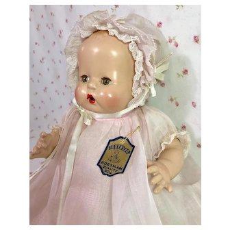 """Rare * 12"""" E.I. Horsman Baby BUTTERCUP -- All Original"""