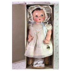 "IDEAL 20"" Flirty Eye 1930s Princess Beatrix Baby Doll -- Mint in Box"