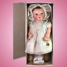 "IDEAL 20"" Flirty Eye 1930s Princess Beatrix Baby Doll -- Mint in Box"