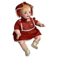 "21"" MINT 1923 Effanbee Composition MaMa Baby Doll -- ALL ORIGINAL"