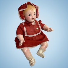 """21"""" MINT 1923 Effanbee Composition MaMa Baby Doll -- ALL ORIGINAL"""