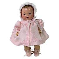 """1930's Effanbee 11""""  Dy-Dee Ette Baby Doll Mold 1"""