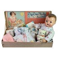 "1937 Dy-Dee Lou Dy-Dee Louise Baby 1ST MOLD 20"" w/ Original Layette"