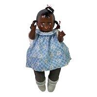 RARE Circa 1927 Effanbee Black African American GrumpyKins Baby Doll