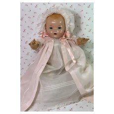 """BLOND Vintage 1930s Effanbee 20"""" Mold 1 Dy-Dee LOU Baby Doll"""