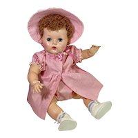Vintage Effanbee 1940s Dy-Dee Louise Mold 3 in Case