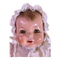 """RARE --1930s Effanbee EARLY SUGAR BABY 22"""" Composition Doll"""