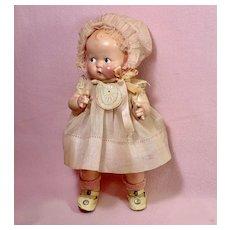 "Rare Vintage 1930s Madame Alexander Compo 11"" Little Cherub Composition Doll"