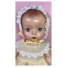 "Madame Alexander Hard Plastic C.1948 ""Precious"" Toddler MINT and RARE"