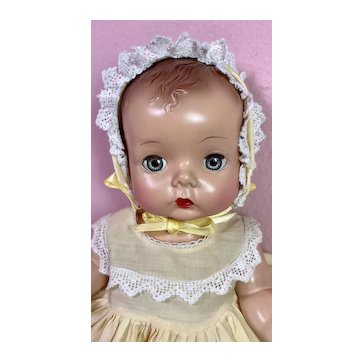 "Madame Alexander Hard Plastic C.1948 ""Precious"" Toddler MINT and RARE"