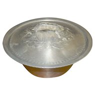 Everlast  Forged Aluminum Pea Serving Bowl With Lid and Glass Bowl