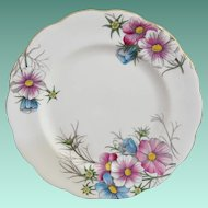"Royal Albert ""Cosmos"" NO. 10 Salad Plate"