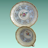 Regency England Tea Cup and Saucer Set