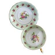 Victoria C & E Pattern No 272 Bone China Tea Cup and Saucer