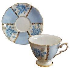 """Royal Standard Tea Cup and Saucer Set """"Margaret Rose"""" # 1187"""