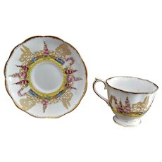 "Royal Albert Bone China ""Greenways"" No 2577 Cup and Saucer"