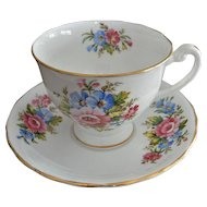 Clarence English Bone China Cup and Saucer No 590/91
