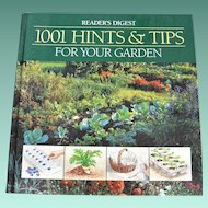 1001 Hints & Tips For Your Garden Reader's Digest