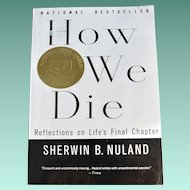 """Book """"How We Die"""" Discusses the Topic of Death"""