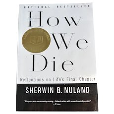 "Book ""How We Die"" Discusses the Topic of Death"