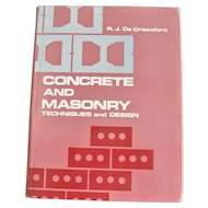 Concrete and Masonry Technique and Design