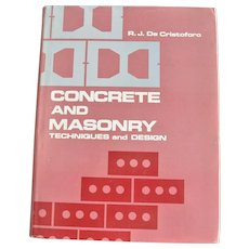 Concrete and Masonry Technique and Design