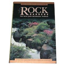 "Book ""Rock Gardens"" for North American Gardeners"